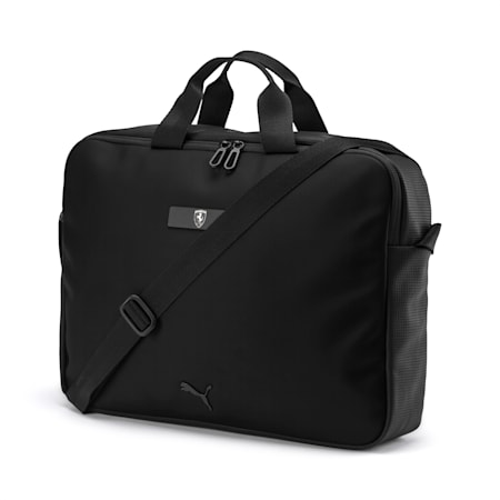 Ferrari Lifestyle Reporter Bag, Puma Black, small-IND