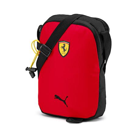 PUMA x Ferrari Fanware Portable Shoulder Bag, Rosso Corsa, small-IND
