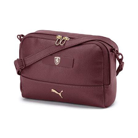 PUMA x Ferrari Mini Women's handbag, Vineyard Wine, small-IND