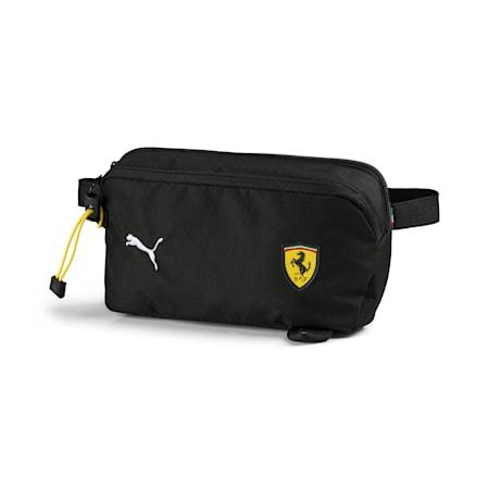 Ferrari Fanwear Waist Bag, Puma Black, small-IND