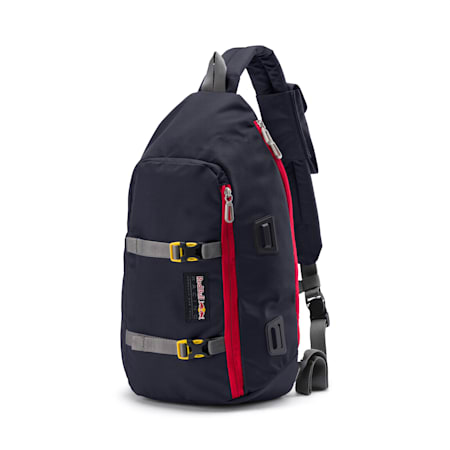 Red Bull Racing Lifestyle Street Sling Bag, NIGHT SKY, small