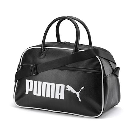 Campus Retro Grip Bag, Puma Black, small-IND