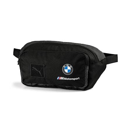 BMW M Motorsport Waist Bag, Puma Black, small-IND