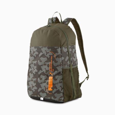 Sac à dos PUMA Style, Forest Night-Camo AOP, small