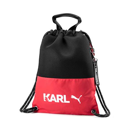 PUMA x KARL LAGERFELD バックパック トート 10L, High Risk Red-Puma Black, small-JPN