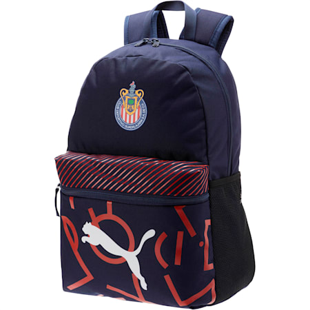 Chivas DNA Backpack, Peacoat-Puma Red, small