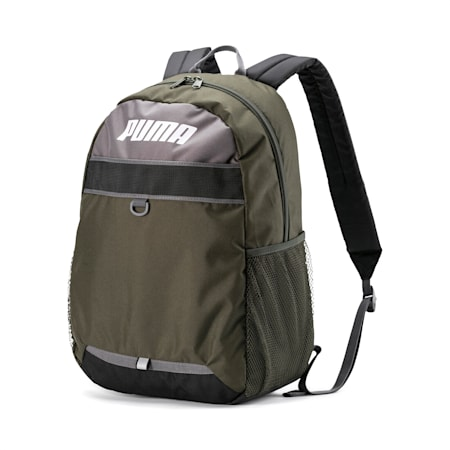 PUMA Plus Backpack, Forest Night, small-SEA