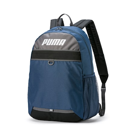 PUMA Plus Backpack, Dark Denim, small-SEA