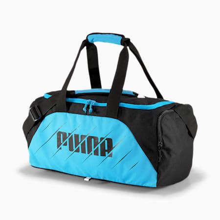 ftblPLAY Reflective Tec Tag Small Bag, Luminous Blue-Puma Black, small-IND