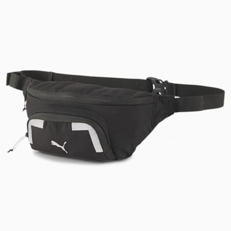 Large Running Waist Bag, Puma Black, small