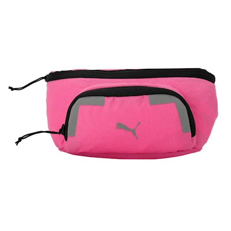 Large Running Reflective Tec Waist Bag, Luminous Pink, small-IND