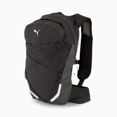 Reflective Tec Running Backpack, Puma Black, small-IND