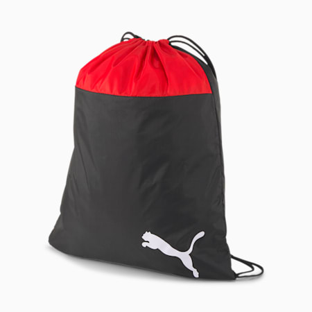 teamGOAL Gym Sack, Puma Red-Puma Black, small