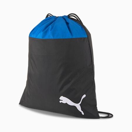 teamGOAL Gym Sack, Electric Blue -Puma Black, small-IND