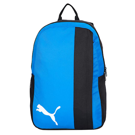 teamGOAL 23 Unisex Backpack, Electric Blue -Puma Black, small-IND