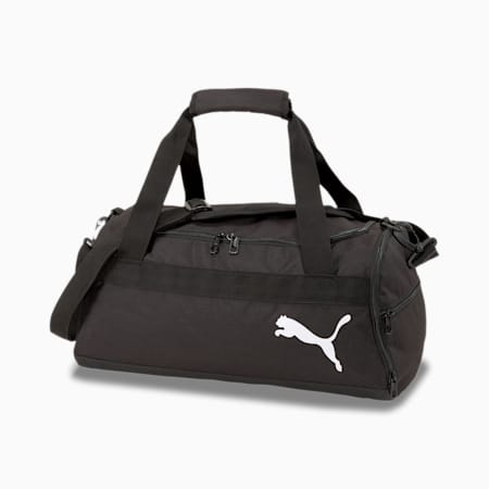 teamGOAL Small Duffel Bag, Puma Black, small