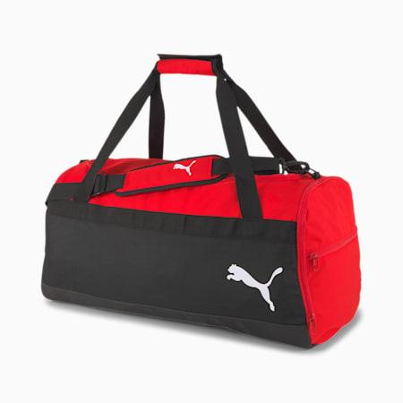teamGOAL Medium Duffel Bag, Puma Red-Puma Black, small-IND