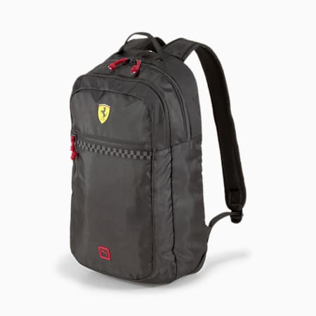 Scuderia Ferrari Fanwear Backpack, Puma Black, small-SEA