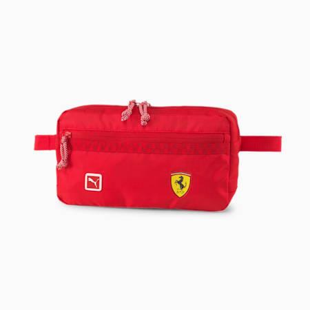 Scuderia Ferrari Fanwear Waist Bag, Rosso Corsa, small