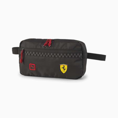 Scuderia Ferrari Fanwear Waist Bag, Puma Black, small-SEA