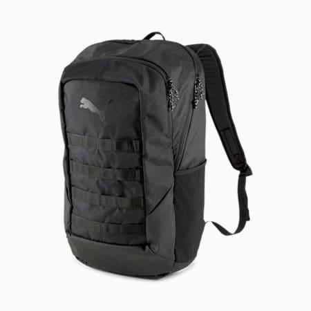 ftblNXT Backpack, Puma Black-Asphalt, small-IND