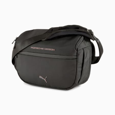 Porsche Design Utility Shoulder Bag, Jet Black, small