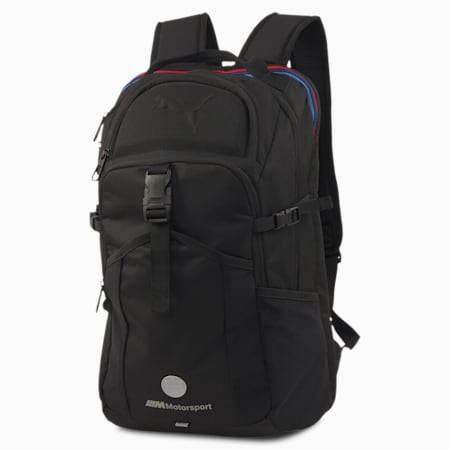 BMW M Motorsport RCT Backpack, Puma Black, small