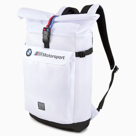 BMW M LS Backpack, Puma White, small-IND