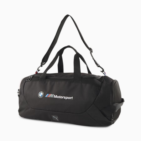 BMW M Motorsport Duffel Bag, Puma Black, small