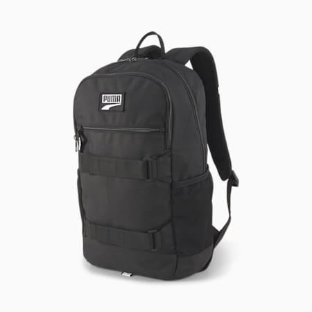 PUMA Deck Unisex Backpack, Puma Black, small-IND