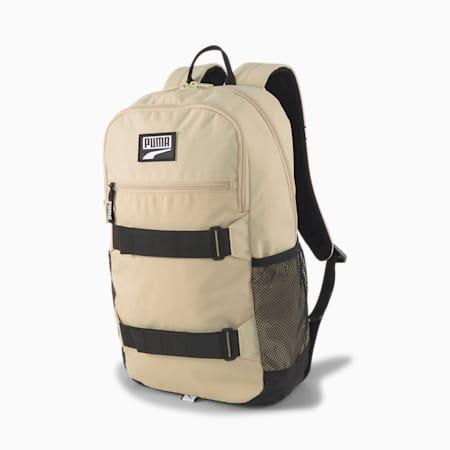 PUMA Deck Unisex Backpack, Pale Khaki, small-IND