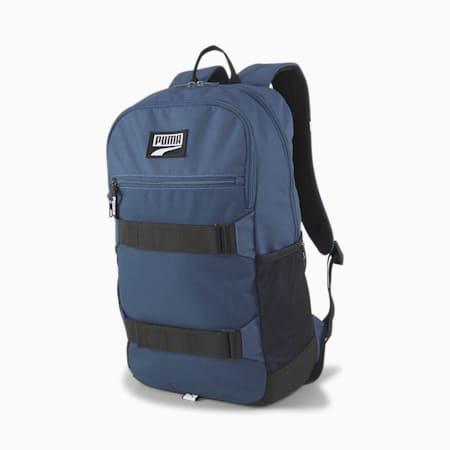PUMA Deck Unisex Backpack, Dark Denim, small-IND