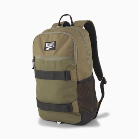 PUMA Deck Unisex Backpack, Burnt Olive, small-IND