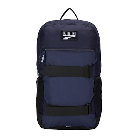 PUMA Deck Unisex Backpack, Peacoat, small-IND