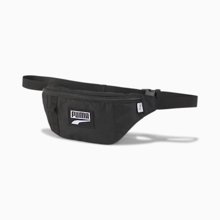 푸마 데크 웨이스트 백/PUMA Deck Waist Bag, Puma Black, small-KOR