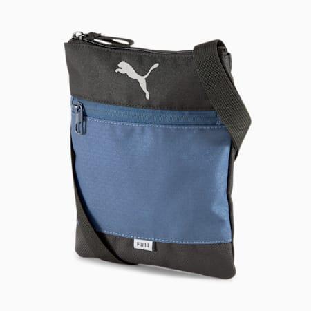 Vibe Portable Shoulder Bag, Dark Denim, small-IND