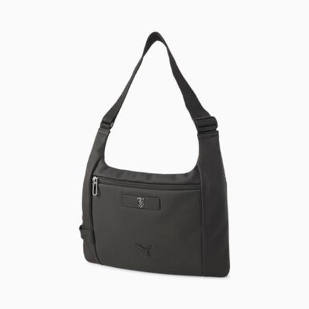 Scuderia Ferrari  Lifestyle Unisex Sling Bag, Puma Black, small-IND