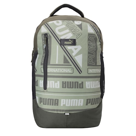 PUMA Kinetic Backpack IND, Forest Night-AOP, small-IND
