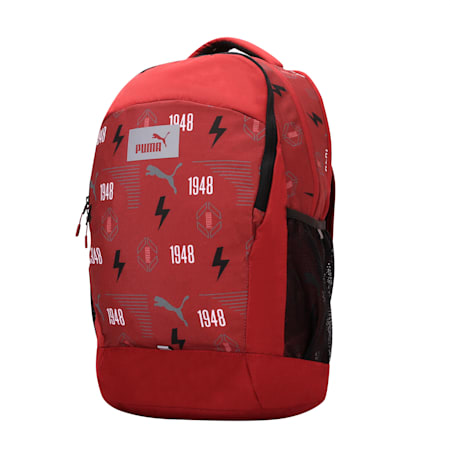PUMA Fizzy Backpack IND, Pomegranate-AOP, small-IND