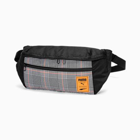 Street Waist Bag, Puma Black-Vibrant Orange-AO, small-SEA