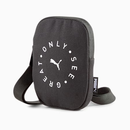 Only See Great Crossbody Bag, Puma Black, small-SEA