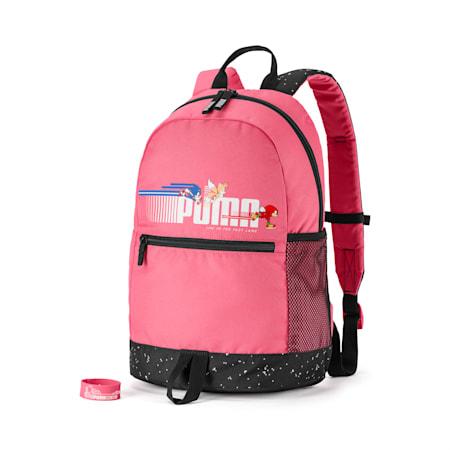 PUMA x SONIC Kids' Backpack, Bubblegum, small-SEA