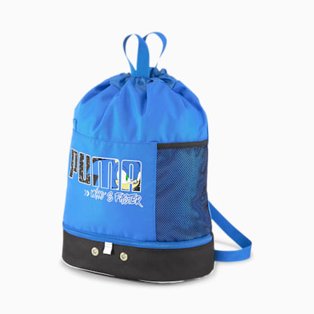 PUMA x SONIC Kids' Backpack, Puma Black, small
