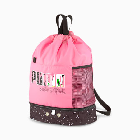 PUMA x SEGA Kids' Backpack, Bubblegum, small-SEA