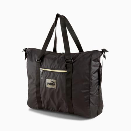 Core Seasonal Women's Duffel Bag, Puma Black, small-IND