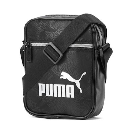 Portable Women's Shoulder Bag, Puma Black, small-IND
