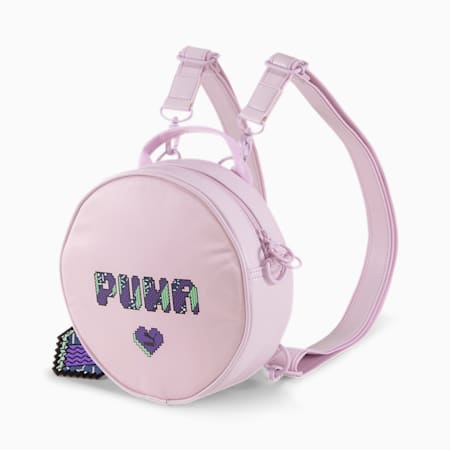 Prime Round Backpack, Lilac Snow-Valentine's, small