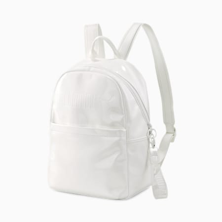 Prime Premium Women's Backpack, Puma White, small-IND
