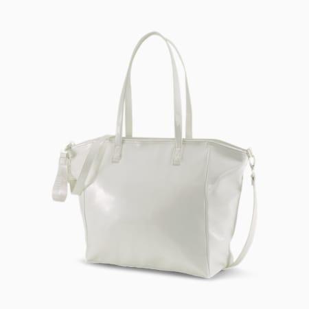 Prime Premium Women's Large Shopper, Puma White, small