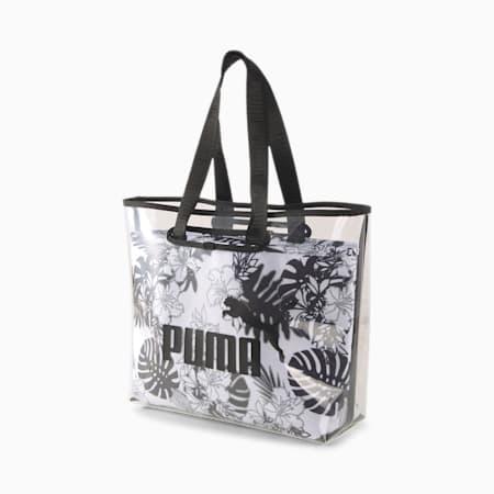 Core Twin Women's Shopper, Puma White-Puma Black-AOP, small-IND